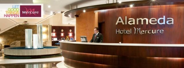 Recepción ALAMEDA Hotel Mercure
