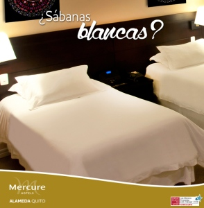 Alameda Hotel Mercure, mejor hotel de Quito.
