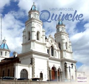 Santuario del Quinche sitio oficial de la visita del #PapaFrancisco.