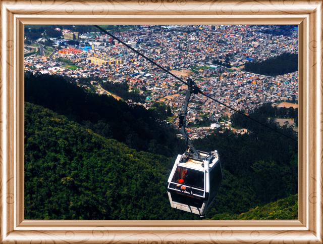 Quito Ecuador está a 2800 metros sobre el nivel del mar